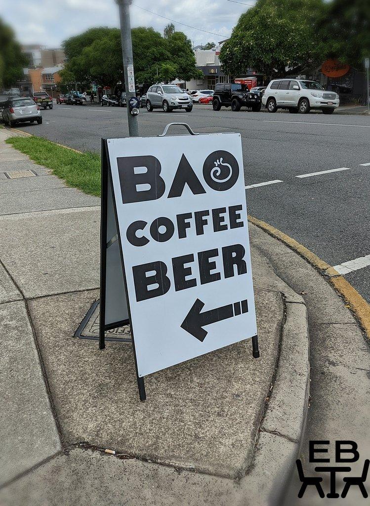 baos pop bistro sign
