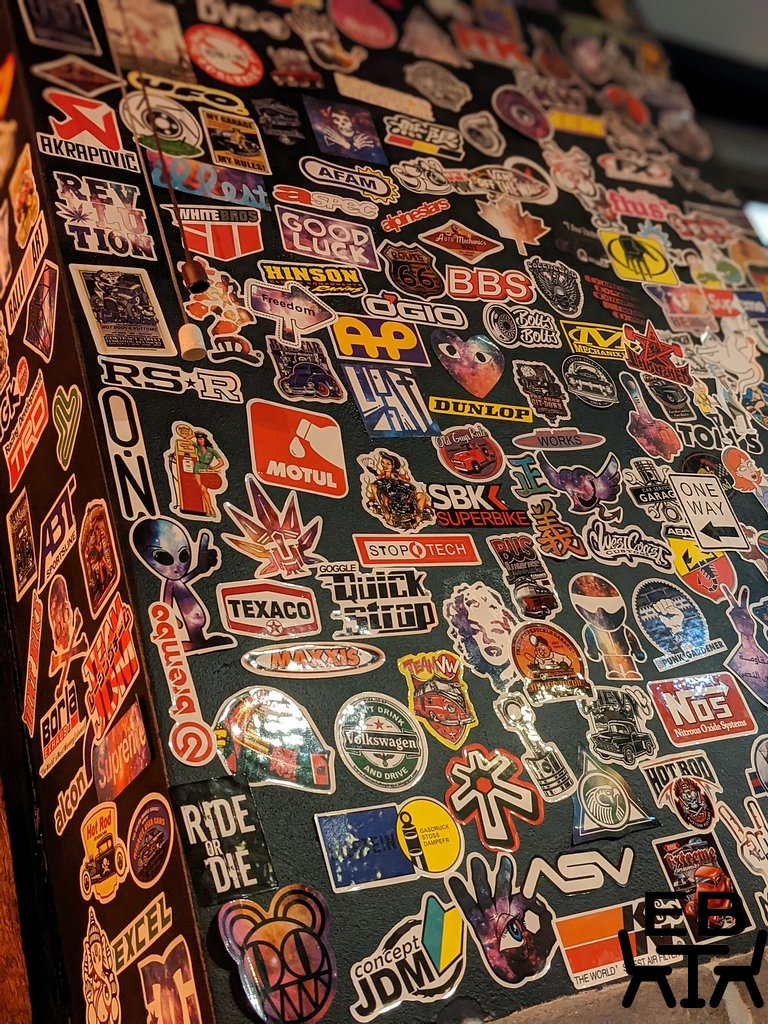 hashtag burgers and waffles wall